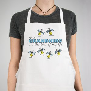 Personalized Light of My Life Apron