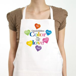 Color The World Personalized Apron