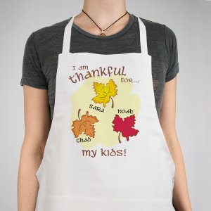 Thankful For Personalized Apron