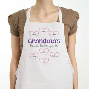 Personalized Heart Belongs To Apron 859337