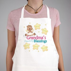 Personalized Teddy Bear Heavenly Blessings Apron