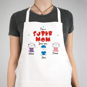 Super Grandma Personalized Apron