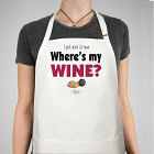 Where's My Wine Apron