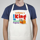 King of Unfinished Projects Apron