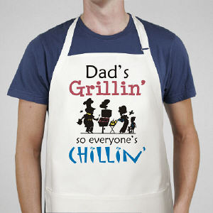 Grillin' and Chillin' Apron - Custom Apron
