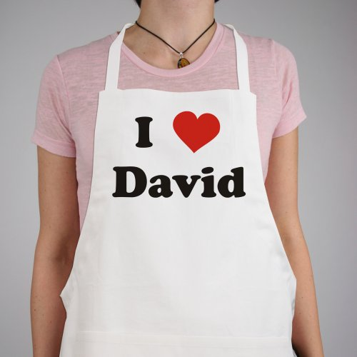 I Love You Personalized Valentine Apron | Personalized Aprons