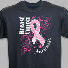 Breast Cancer Hope Ribbon Awareness T-Shirt
