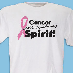 Pink Ribbon Breast Cancer Awareness T-Shirt