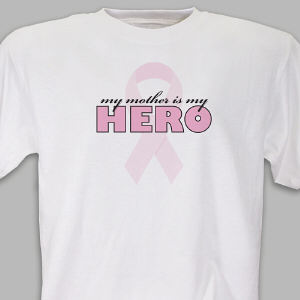 Personalized My Hero Awareness T-Shirt