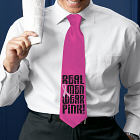 Real Men Wear Pink Necktie