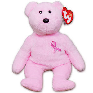 Breast Cancer Awareness Beanie Baby