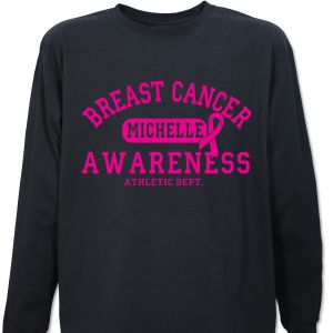 Breast Cancer Awareness Long Sleeve Shirt