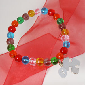 Engraved Autism Awareness Bracelet J42147