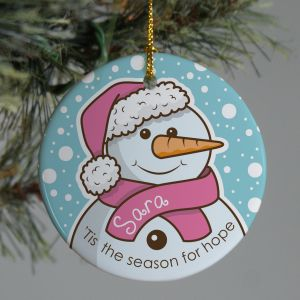 Breast Cancer Awareness Ornament