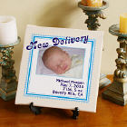 New Delivery Personalized New Baby Wall Canvas