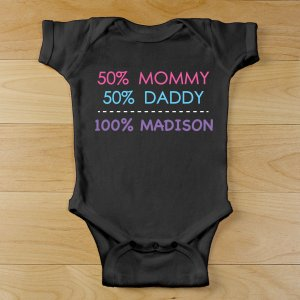 Personalized Baby Girl Infant Bodysuit | Personalized Baby Gifts
