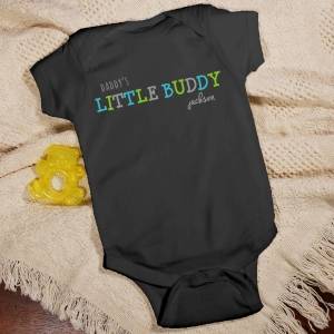 Personalized Little Buddy Infant Creeper