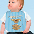 Personalized Puppy Baby Bib