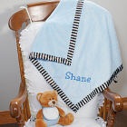 Embroidered Baby Boy Cuddle Blanket