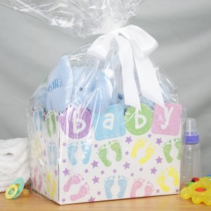 New Baby Boy Gift Basket