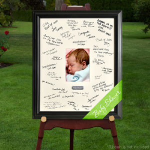 Engraved Baby Signature Frame