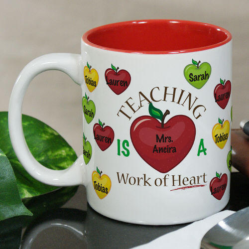 Personalized Teacher Mug | Customizable Coffee Mugs