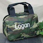 Embroidered Camo Lunch Tote