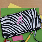 Embroidered Zebra Print Pencil Case E599170