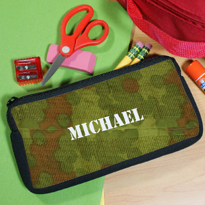 Custom Printed Army Pencil Case