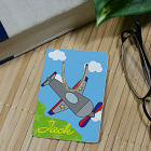 Personalized Airplane Bookmark U39445