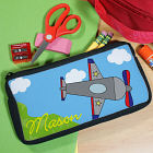 Personalized Airplane Pencil Case U39447