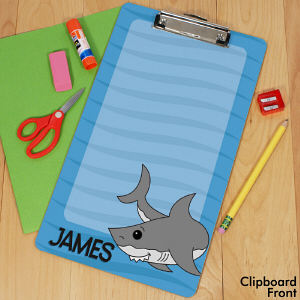 Personalized Shark Clipboard