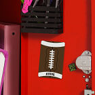 Personalized Football Locker Magnet