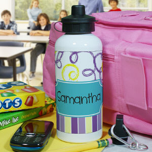 Personalized Water Bottle for Her