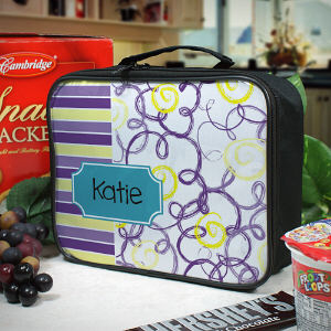 Personalized Lunch Tote for Her