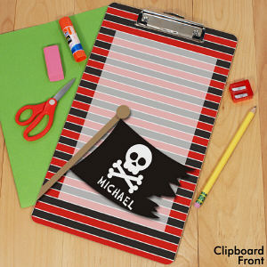 Personalized Pirate Clipboard