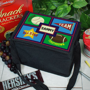 Personalized Sports Lunch Cooler