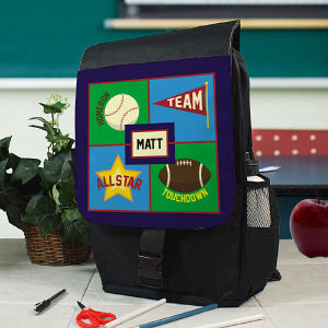 Personalized Sports Backpack U675862
