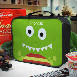 Personalized Dinosaur Lunch Tote