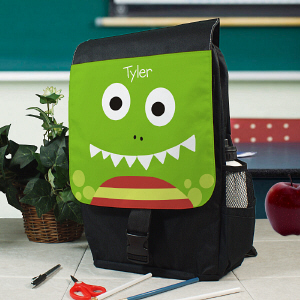 Personalized Dinosaur Backpack Green