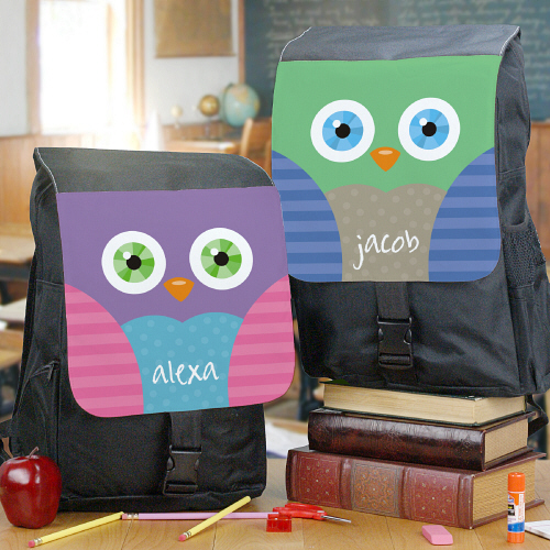 Personalized Owl Backpack U779962