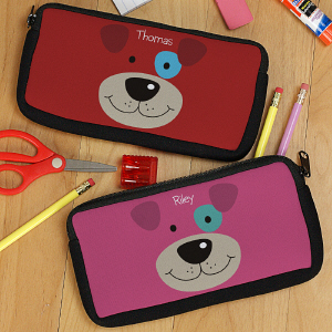 Personalized Puppy Pencil Case U78007