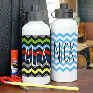 Chevron Water Bottle