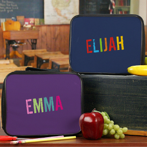 Personalized Any Name Lunch Tote
