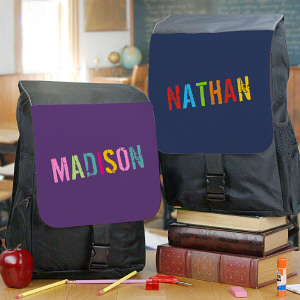 Personalized Any Name Backpack