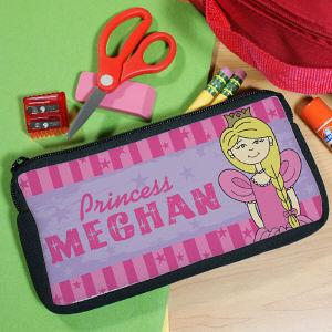 Personalized Princess Pencil Case