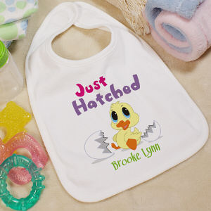 Personalized Easter Baby Bib