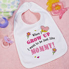 When I Grow Up - Butterfly  Bib