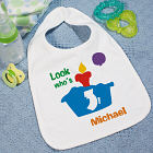 Look Who's Primary Baby Bib