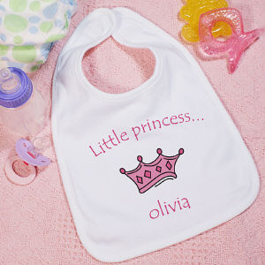 Little Princess Personalized Baby Bib